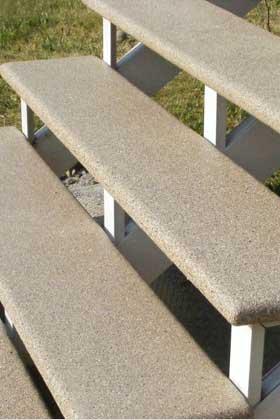 Balcon fibre de verre nr inc manufacturier patio balcon for Marche pour patio